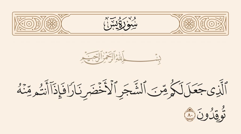 سورة 80 الآية رقم  يس