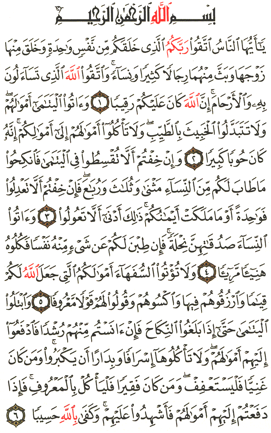 Page No 77  The Noble Quran