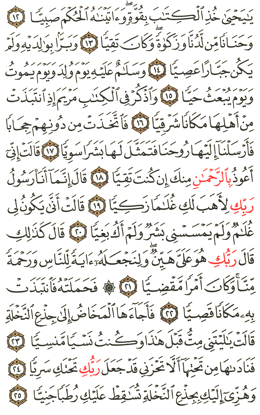 Page No 306   The Noble Quran