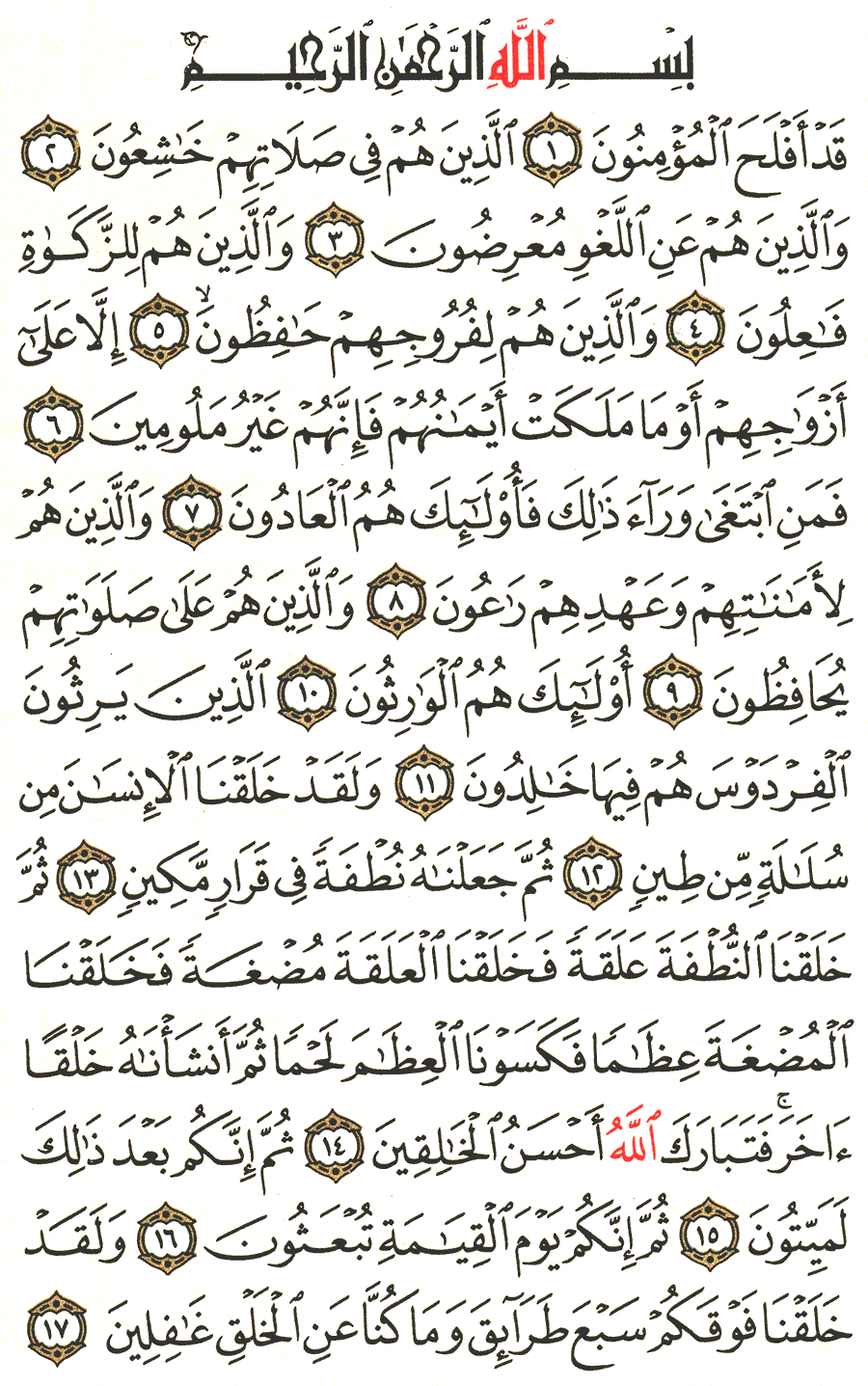 Page No 342   The Noble Quran