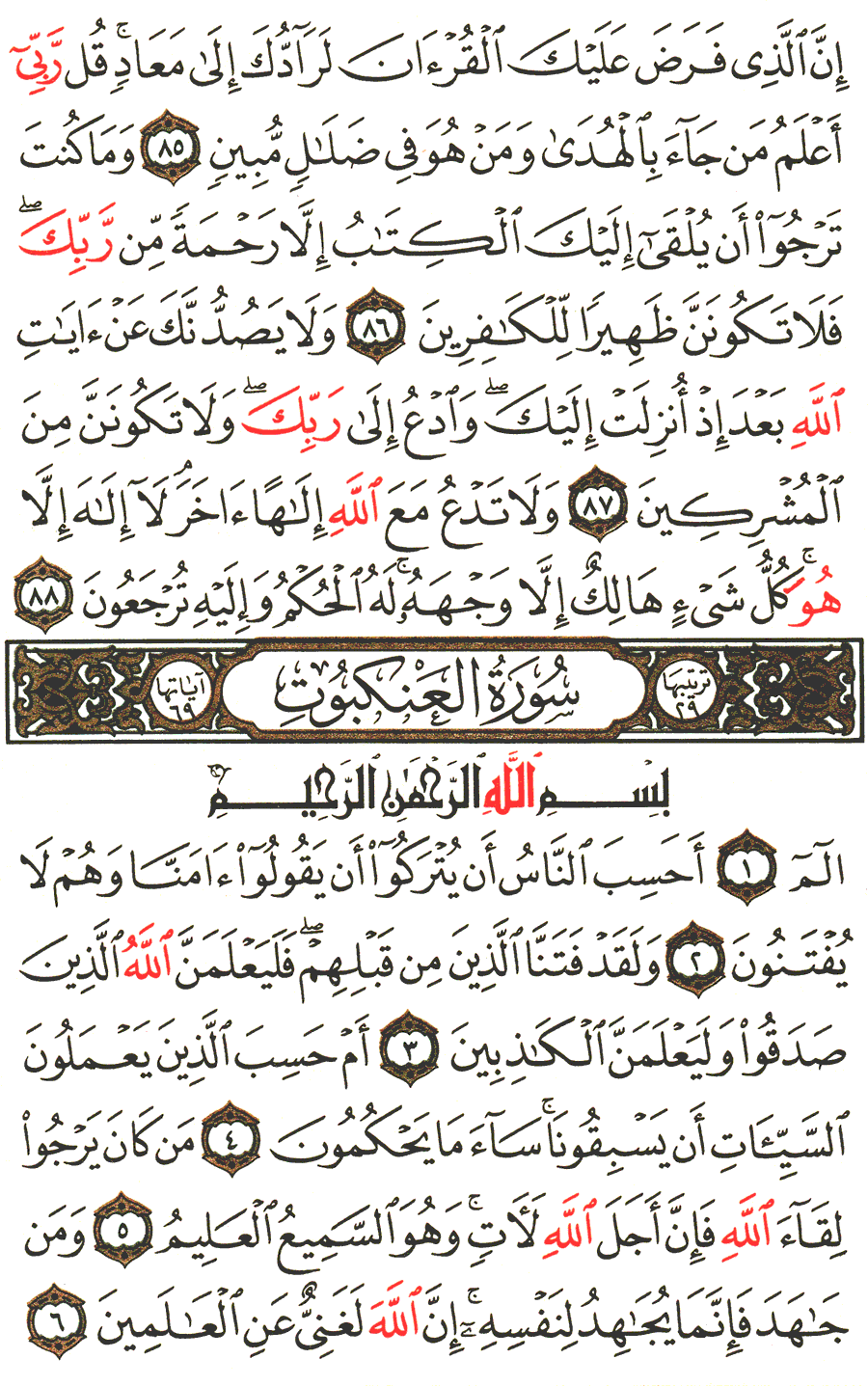 Page No 396   The Noble Quran