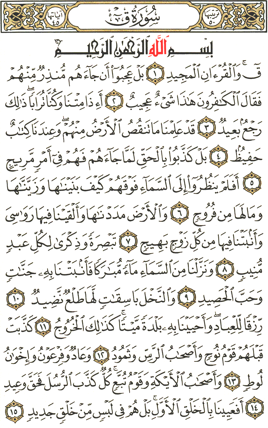 Page No 518  The Noble Quran