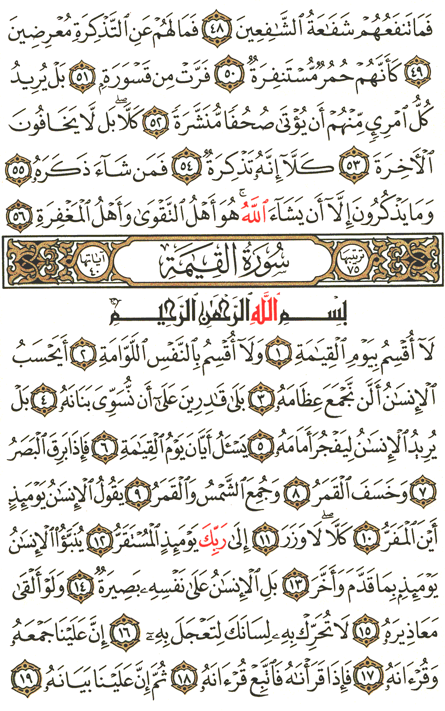 Page No 577  The Noble Quran