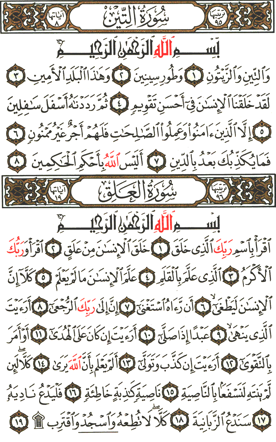 Page No 597  The Noble Quran